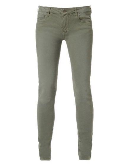 REIKO Tero color slim Trousers - kaki