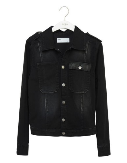 REIKO Dokine black denim Jacket