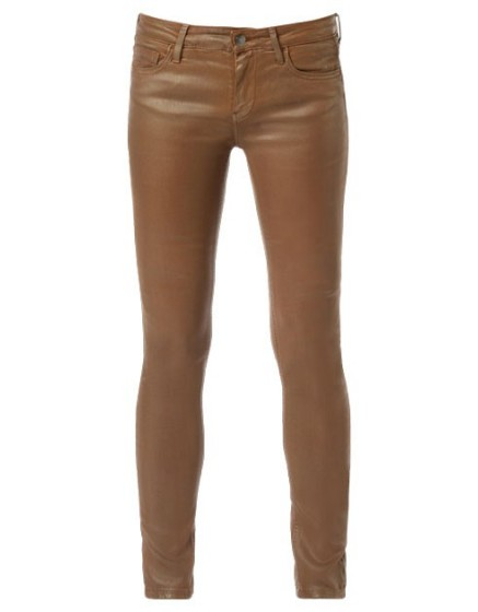 REIKO Noemie enduction skinny Jean - cannelle