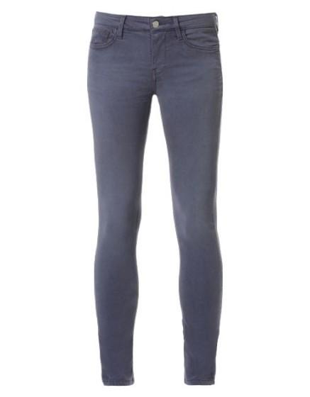 REIKO Pantalon skinny couleur Noémie - DRAGE