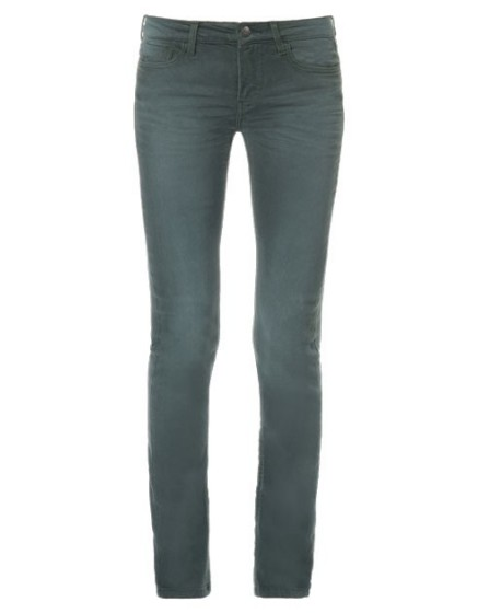 REIKO Noemie colored skinny trousers - epinard