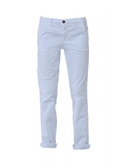 Pantalon chino basic Sandy - BLEU-AZUR
