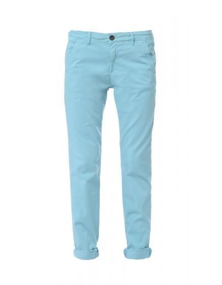 Pantalon chino basic Sandy - VERT-RIVIERE