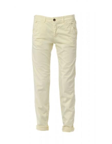 Pantalon chino basic Sandy - JAUNE-SOLEIL