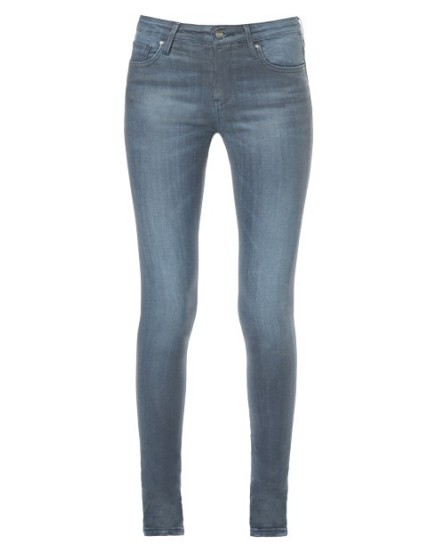 Noemie skinny enduction Jean - blue