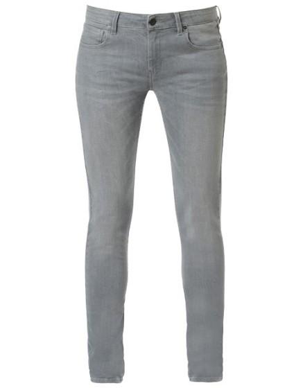 Noemie skinny enduction Jean - carbone