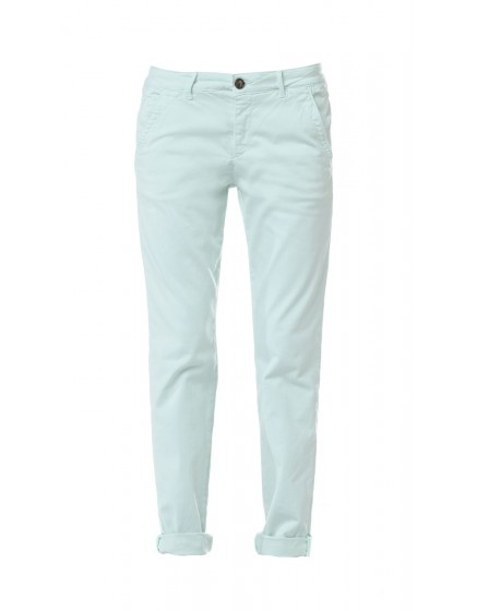 Pantalon chino basic Sandy - VERT-PALE