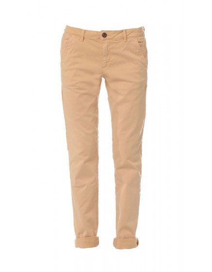 Pantalon chino basic Sandy - TERRE-ORANGEE