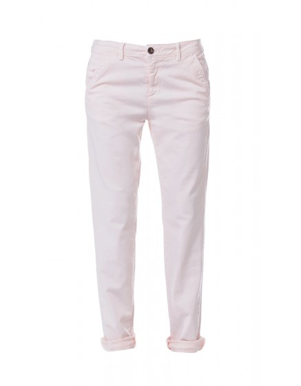 Pantalon chino basic Sandy - ROSE-POUDRE