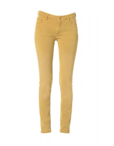 Pantalon Skinny couleur Axelle - CURRY