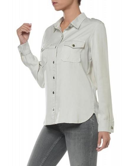REIKO Claryss Shirt - craie