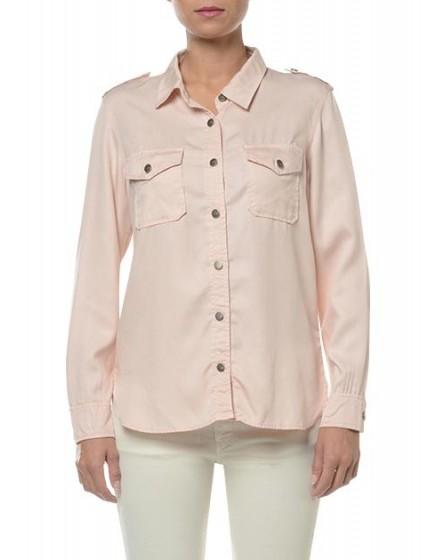 REIKO Claryss Shirt - litchi
