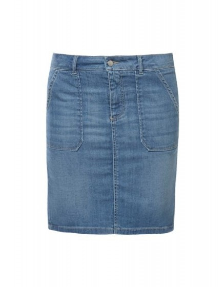 July straight denim skirt - Reiko Jeans