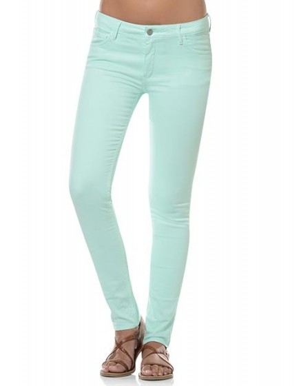 Pantalon skinny couleur Noémie - AQUA