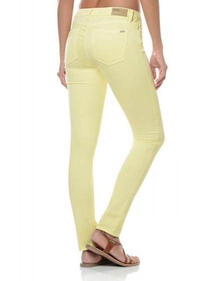 Noemie colored skinny Trousers - mimosa