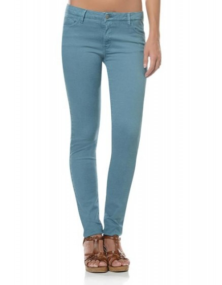 Pantalon slim coloré Tero - MIRAGE