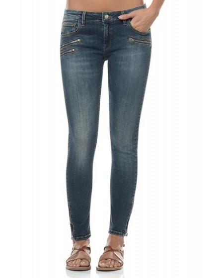 Zipped skinny Jean Ella - denim-42
