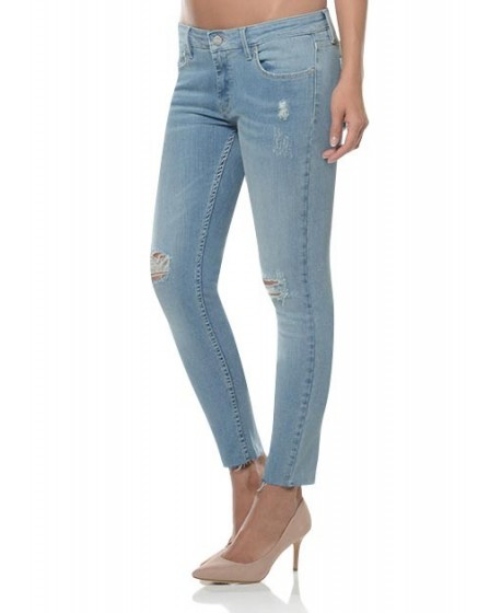 Skinny cropped jean Lily - denim-1220