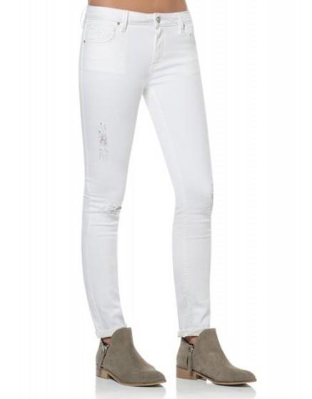 REIKO Noemie Skinny jean - white