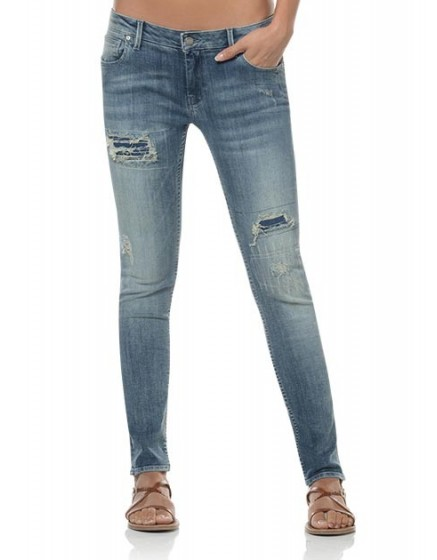 Washed skinny jean Maria - denim-1121