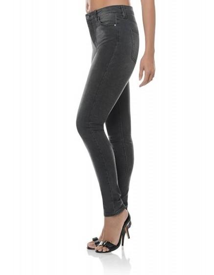 Jean skinny taille haute Arnel - BLACK-DENIM
