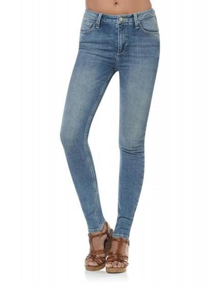 Jean skinny taille haute Arnel - BLUE