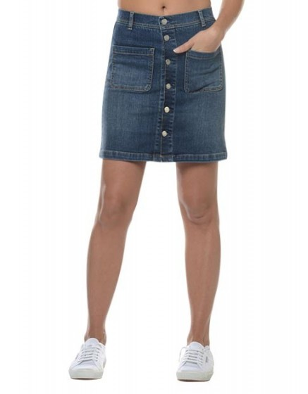 A-line denim Skirt Joss