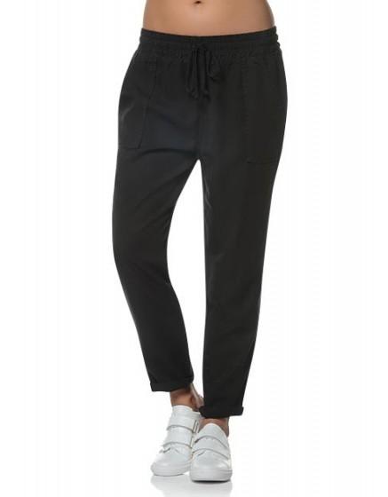 Pantalon fluide MIlitary - BLACK