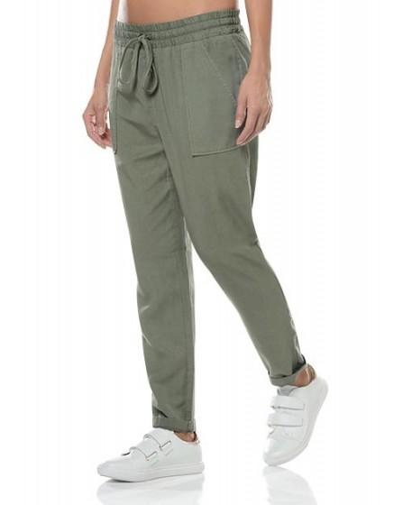 Pantalon fluide MIlitary - KAKI-