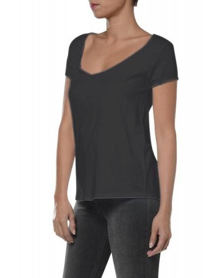 T-shirt à manches courtes Bony - CARBONE
