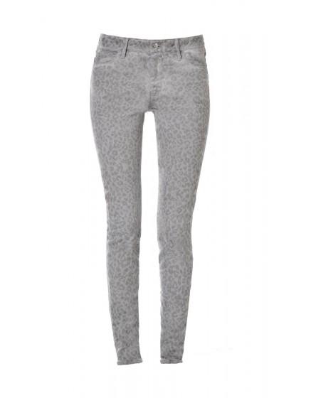 Pantalon Skinny imprimé guépard - CARBONE