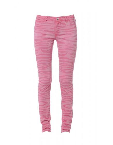Pantalon skinny imprimé zèbre - GRENADINE