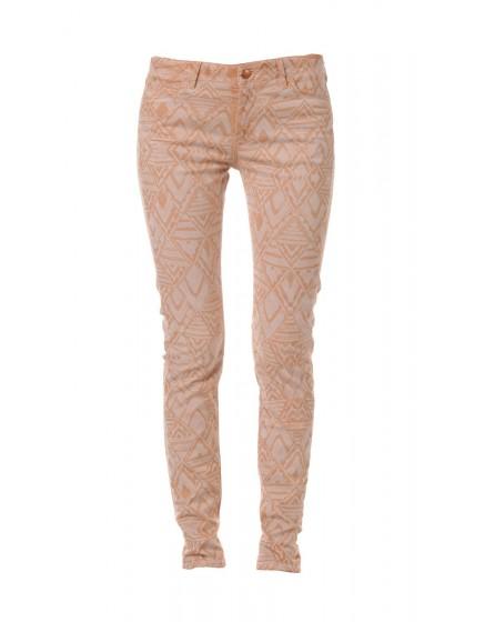 Pantalon skinny ethnique Louisa - TERRE-ORANGEE