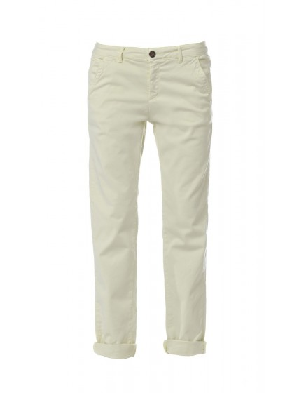 Pantalon chino basic Sandy - PISTACHE