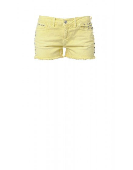 Short cloute colore - ZESTE-DE-CITRON