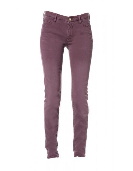 Pantalon Skinny couleur Axelle - BOURGOGNE-