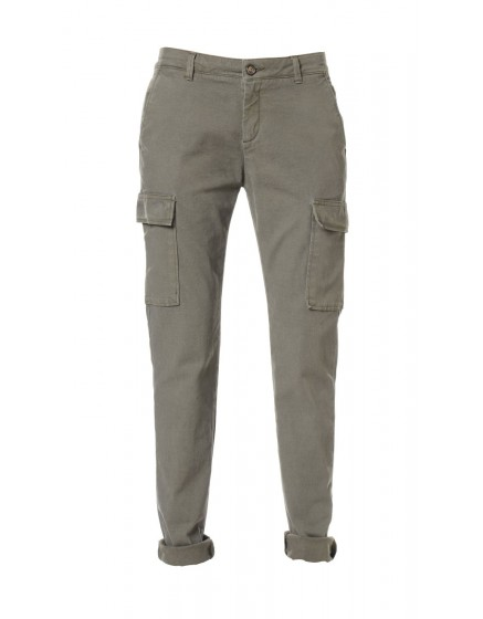 Pantalon chino army Candice - KAKI-