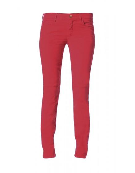 Pantalon skinny effet daim Julia - PIMENT