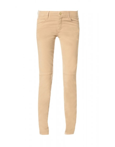 Pantalon skinny effet daim Julia - CANELLE