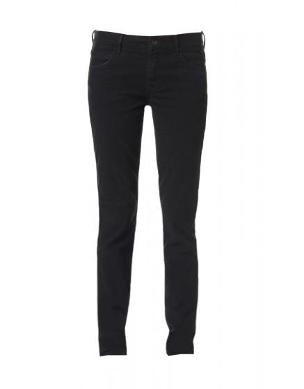 Pantalon skinny effet daim Julia - BLACK
