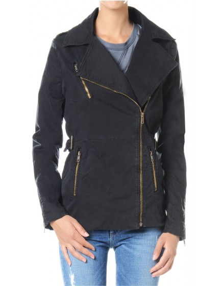 Veste zippée Patti - BLACK