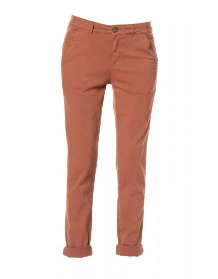 Pantalon chino toile teintée - PAPRIKA