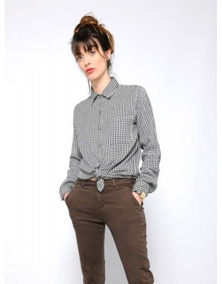 Pantalon chino SANDY - EXPRESSO