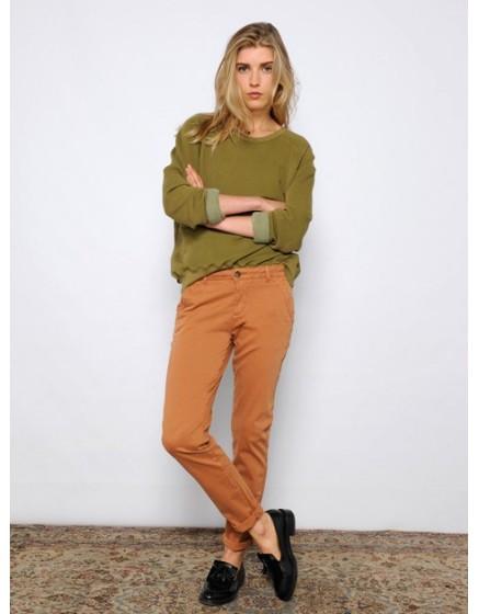 Pantalon chino SANDY - FAUVE