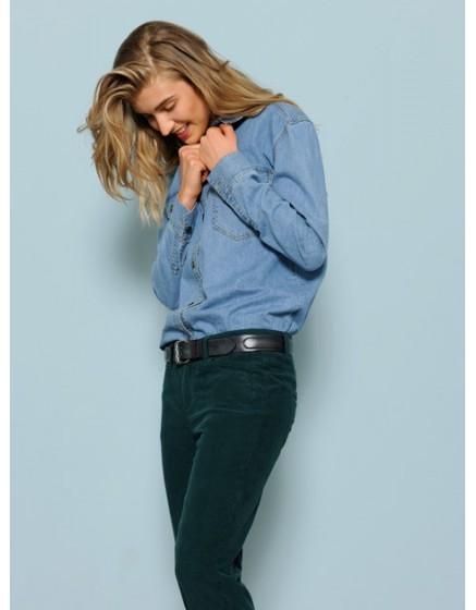 Velvet boyfriend trousers Nina