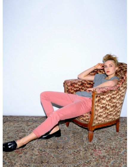 Pantalon chino SANDY - BLUSH