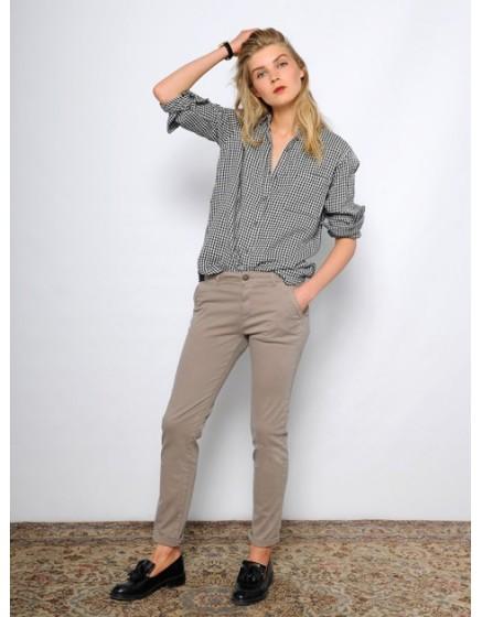 Pantalon chino SANDY - TAUPE