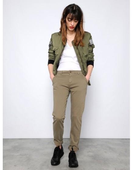 Pantalon chino SANDY - VINTAGE-KAKI