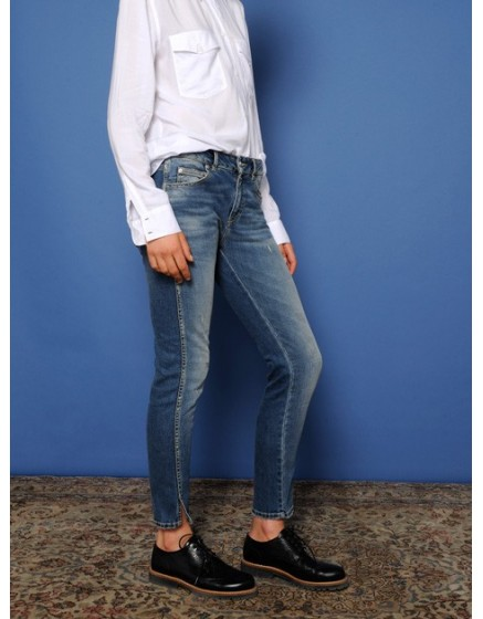 Jean skinny cropped Daytona - DENIM-2
