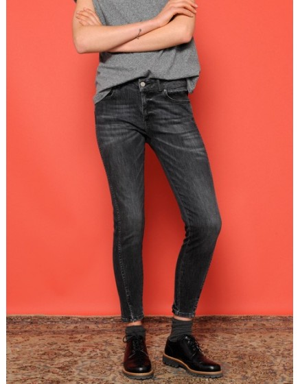 Jean skinny cropped Daytona - DENIM-3